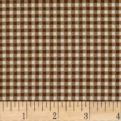 Maywood Studio Beautiful Basics Classic Check Milk Chocolate