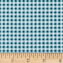 Maywood Studio Beautiful Basics Classic Check Ocean Blue