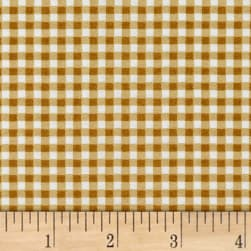 Maywood Studio Beautiful Basics Classic Check Gold