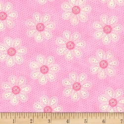 Carrot Patch Monotone Daisy Pink