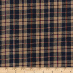 Country Cupboard Medium Plaid Yarn Dyed Navy