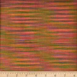 Winding Ridge Ikat Yarn Dyed Yellow/Pink/Green Fabric