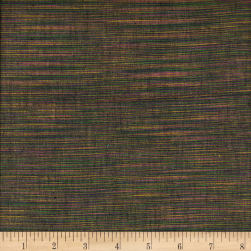 Winding Ridge Ikat Yarn Dyed Purple/Green Fabric