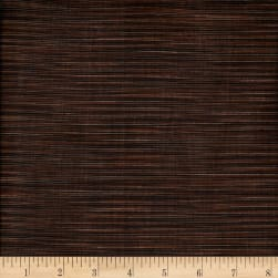 Winding Ridge Ikat Yarn Dyed Black/Brown Fabric