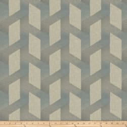 Fabricut Brayton Fret Blue Smoke Fabric