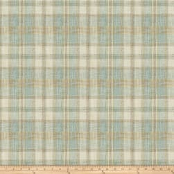 Fabricut Edgevale Plaid Robin S Egg Fabric
