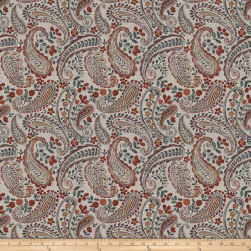 Fabricut Freehand Paisley Autumn Spice Fabric