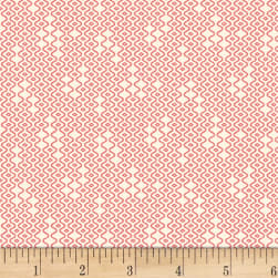 P&B Textiles Amelie Geo Texture Red