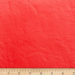 Morgan Fabrics Capitano Faux Leather Classic Red Fabric