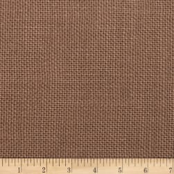 Morgan Fabrics Wilde 100% Linen Mocha Fabric