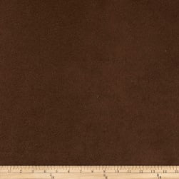 Morgan Fabrics Passion Faux Suede Chocolate Fabric