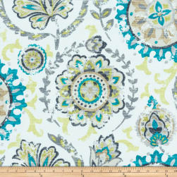 Morgan Fabrics Baysun Peacock Fabric