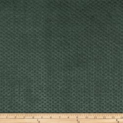 Morgan Fabrics Velvet Check Lagoon Fabric