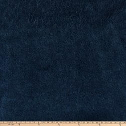 Morgan Fabrics Velvet Wool Mohair Plush Indigo Fabric