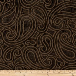 Morgan Fabrics Brio Chenille Chocolate Fabric