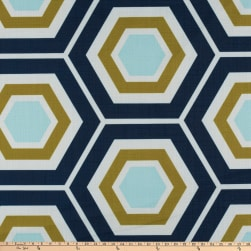 Morgan Fabrics Beeswax Ocean Fabric