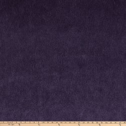 Morgan Fabrics Velvet Wool Mohair Plush Aubergine Fabric