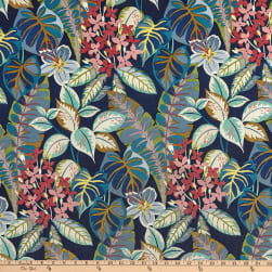 Swavelle/Mill Creek Indoor/Outdoor Waynoka Navy Fabric