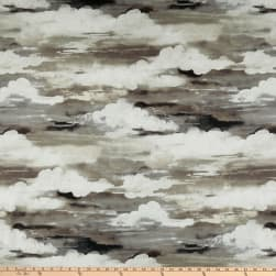 Swavelle Head in The Clouds Barkcloth Thunder Fabric