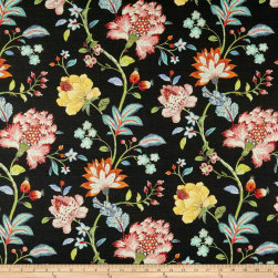 Swavelle/Mill Creek Isamen Barkcloth Eclipse Fabric