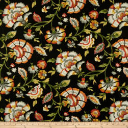 Swavelle/Mill Creek Ivory Tower Linen Noir Fabric