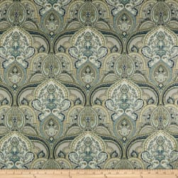 Swavelle/Mill Creek Pushang Twill Pearl Grey Fabric