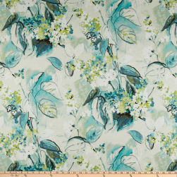 Swavelle/Mill Creek Sisley Garden Barkcloth Menthe Fabric