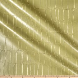 Swavelle Performance Nuvtex Gator Faux Leather Fern