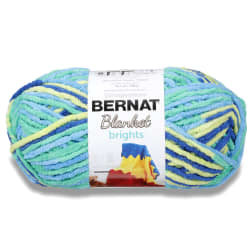 Bernat Blanket Brights Yarn (300g/10.5 oz), Surf Varg