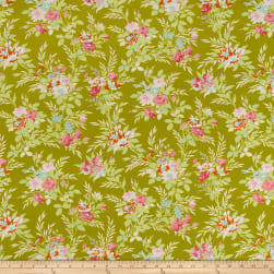 Freespirit Darling Meadow Little Bouquet Olive