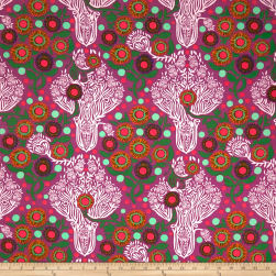 FreeSpirit Passion Flower Imposter Candy Fabric