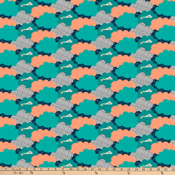 FIGO Special Delivery Special Delivery Teal/Multi Fabric