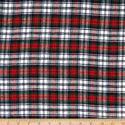 Windstar Tartan Twill Flannel Red/Green/Navy/White