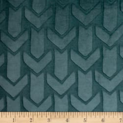 Richloom Agora Plush MinkyTeal Fabric