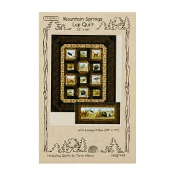 Northcott Mountain Springs Quilt and Pillow Pattern
