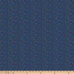 Northcott Big Bang Random Dots Navy