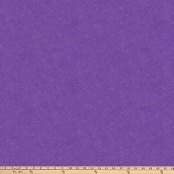 Northcott X's and O'S Wild Orchid Confetti Red/Purple