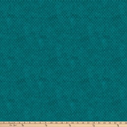 Northcott X's and O's Rainforest Big Cheerios Teal