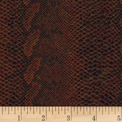 AbbeyShea Aythana Vinyl 6321131 Rustic Red Fabric