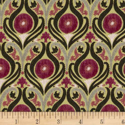 AbbeyShea Captivate Jacquard 17 Mulberry Fabric