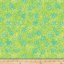 Northcott 3D Underseas Adventures Small Bubbles Lime/Turquoise