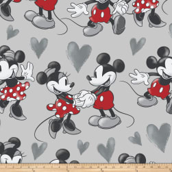 Disney Mickey and Minnie Vintage Fleece Fun With