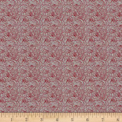 Kaufman Tootal:Twill Overprints Rose Red