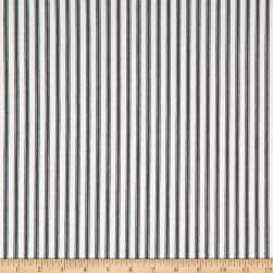 Kravet Basics 30337.81.0 Twill Ticking Stripe Blue/White