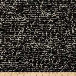 Kaufman Chalk And Charcoal Text Words Black