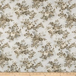 Kaufman Mayfield Large Flowers Antique Fabric