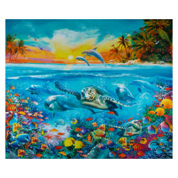 Robert Kaufman Picture This Adventure Sealife 36
