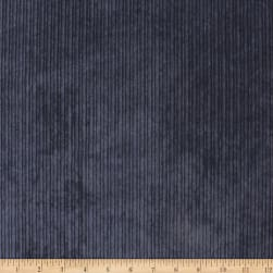 Telio Nouveau Poly Nylon Hi-Low Corduroy Navy Fabric