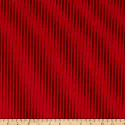 Telio Nouveau Poly Nylon Hi-Low Corduroy Red Fabric