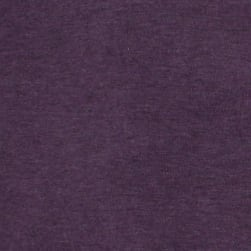 Telio Stretch Organic Cotton Melange Jersey Purple Fabric
